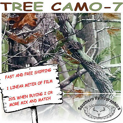 Hydrographic Water Transfer Hydrodipping Film Hydro Dip Tree Camo -7 1m