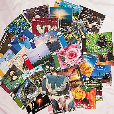 Wunschpaket II — 10 Postkartenbücher — 300 Postkarten — Ideal für Postcrossing
