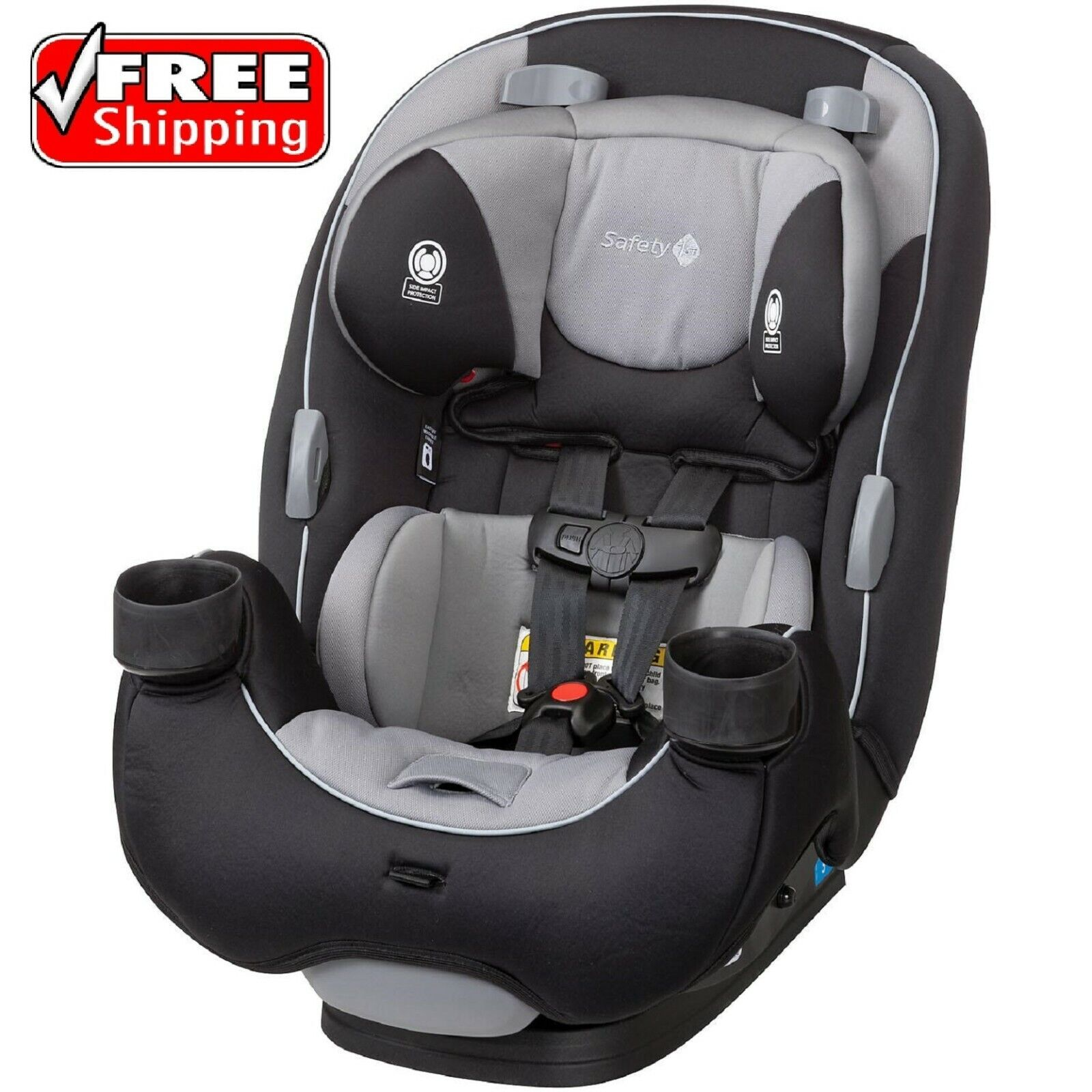 Safety 1st EverFit 3-in-1 Convertible Car Seat Compass FREE