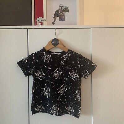H&M Star Wars Tshirt Age 2-4yrs
