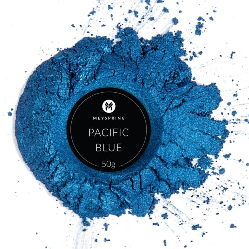 MEYSPRING Pacific Blue Mica Powder for Epoxy - Two Tone Resin Color Pigment