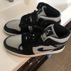 Air Jordan 1 Grey Black size 12.5