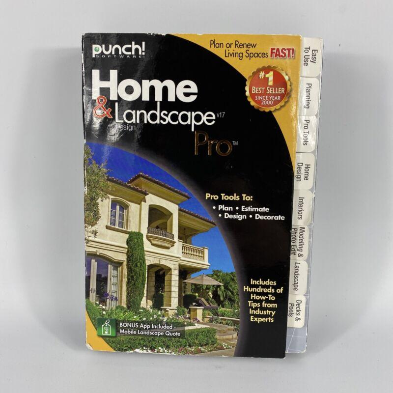 Punch Home & Landscape Design Pro PC