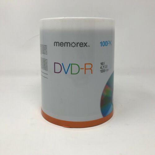 NEW Memorex 100 Pack DVD-R 16X 4.7GB 120 Min SEALED