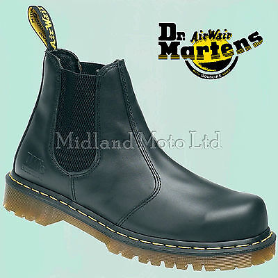 Dr. Martens Dealer AirWair Steel Toe Cap Safety Boots Chelsea Market Doc (Doc Martens Steel Toe Boots)