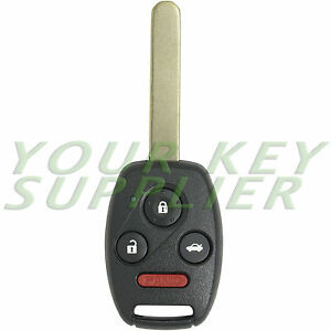 replacement      honda accord remote keyless key fob ebay