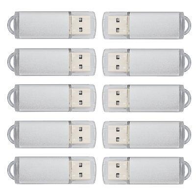 10 Stück 1GB USB 2.0 Memory Stick Flash laufwerk Swivel Thumb Speicher USB Stick 10 Stück Usb
