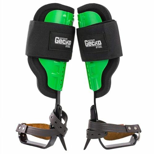 41150 NOTCH GECKO STEEL CLIMBING SPIKE & PAD SET -ARBORIST CLIMBING SPURS