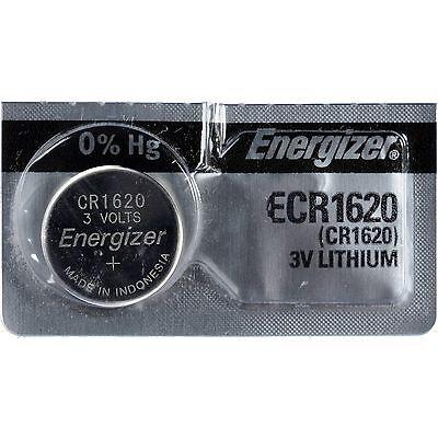 5 Pcs Energizer CR1620 ECR1620 CR 1620 3V Lithium Batteries