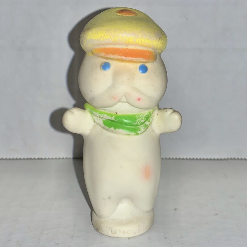 Vintage 1974 Pillsbury Doughboy Rare Uncle Rollie Finger Puppet Figurine Figure