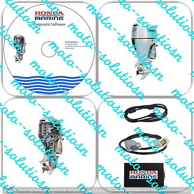 USA Seller Honda Marine Diagnostic Kit (Marine HDS) Outboard