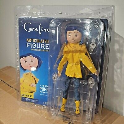 NECA CORALINE IN RAINCOAT CLOTHED ARTICULATED 7