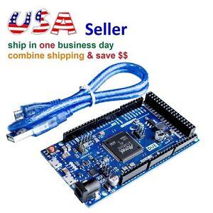 DUE R3 Development Board SAM3X8E 32bit ARM Microcontroller+USB Cable for Arduino