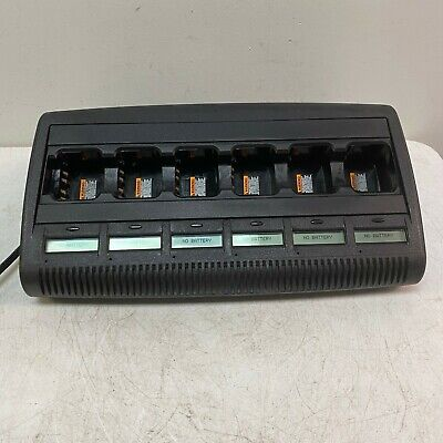 Motorola Impres 6-bay Adaptive Charger Pn Wpln4218b Tested And Working
