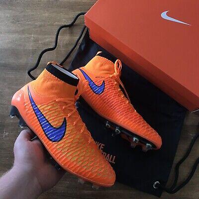 Nike Magista Obra FG Orange UK 8