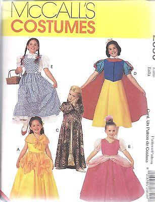 ll Nähmuster Mädchen Klassisch Charakter Kostüme Halloween (Charakter-kostüme Halloween)
