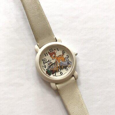 Vintage Disney Bambi Kids Watch Rare Htf Not Tested Thumper Japan Lorus