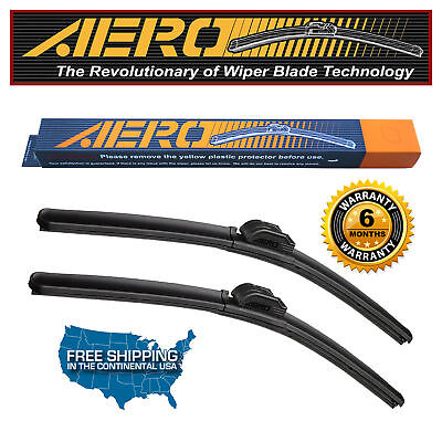 AERO PHPTBILOEC Premium All Season Beam Wiper Blades Set of 2