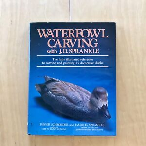 Waterfowl Carving: Sprankle / nature art reference