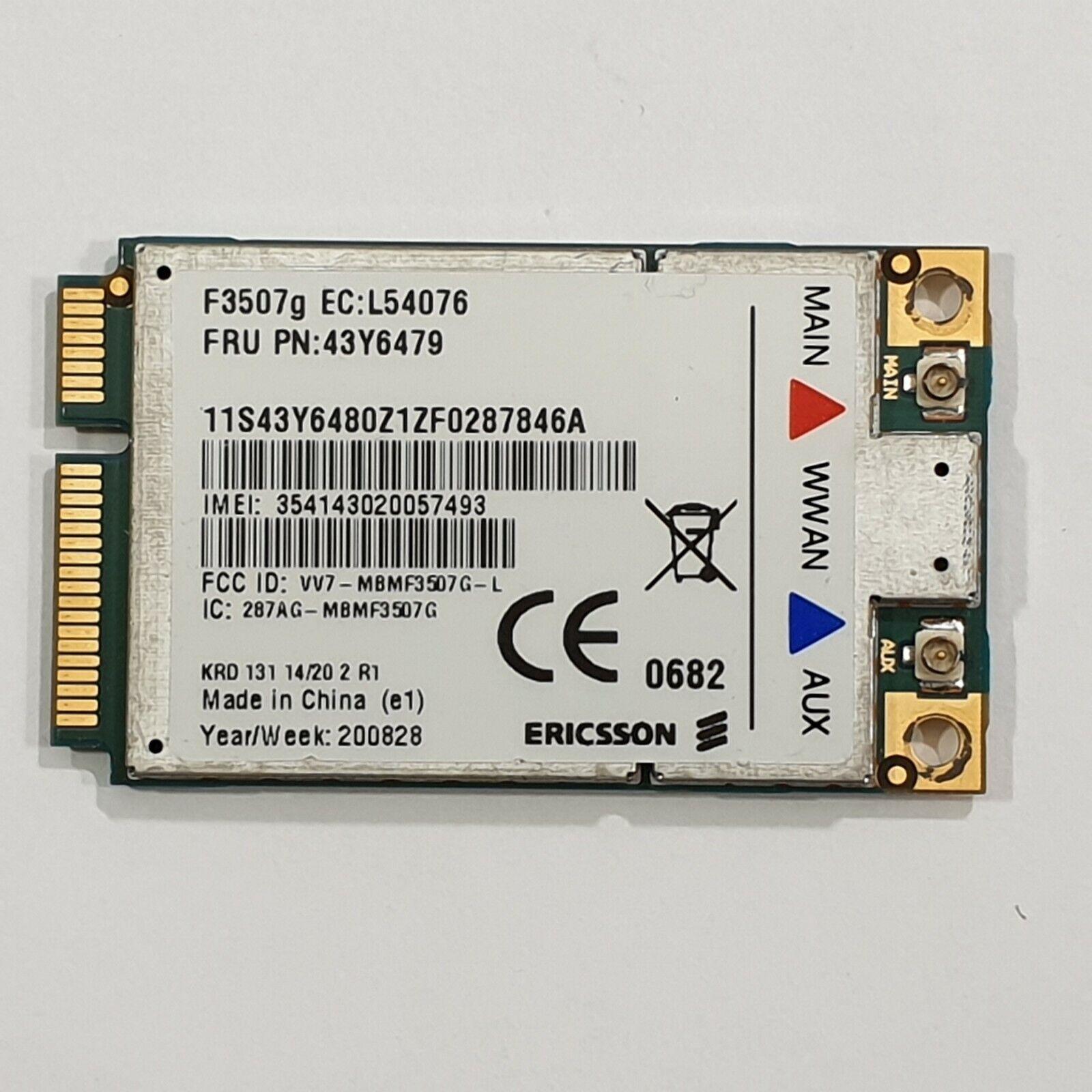 Lenovo ThinkPad SL500 WWAN Karte 3G Modul UMTS Card