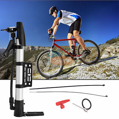 Mini Portable MTB Bike Pump Schrader Bicycle Tyre Inflator Hand Pump Supplies Z