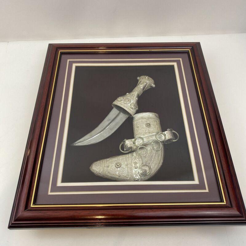 Antique Dagger Turkish Islamic Silver Jambiya Ottoman Jambiya