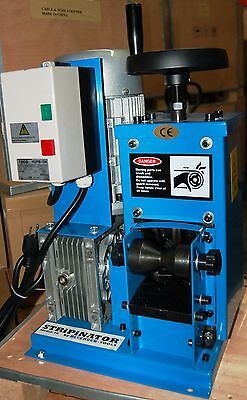 Bluerock Tools Model 60 Stripinator Copper Wire Stripping Machine Large Wire
