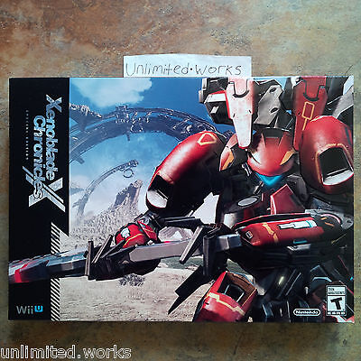 Xenoblade Chronicles X Special Limited Collectors Edition Wii U Brand New Sealed segunda mano  Embacar hacia Argentina