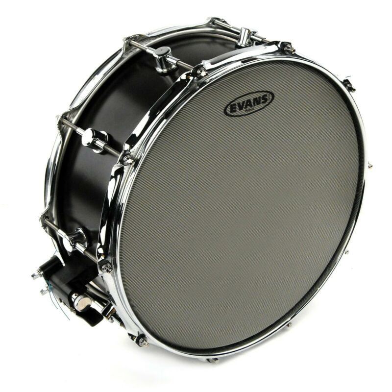 Evans Hybrid Coated Drumset Snare Batter Drum Head, 14 Inch