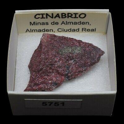CINABRIO (Minas de Almaden, Almaden, Ciudad Real) #5751 / Cinnabar