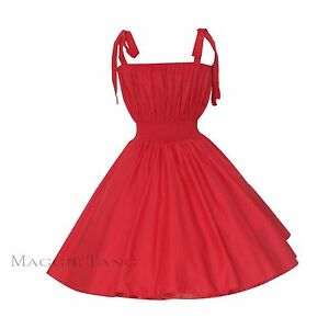 Maggie Tang 50s 60s Vintage Swing Rockabilly Party Evening Dress Plus Size US