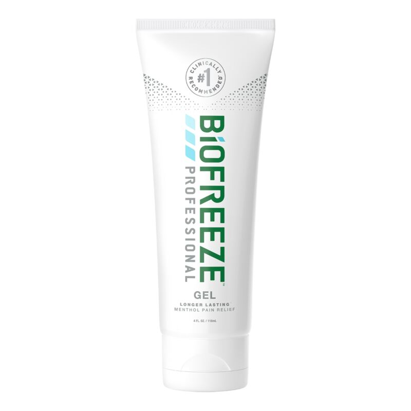 Biofreeze Professional Pain Relief Gel For Muscles Joints Body Menthol 4 oz