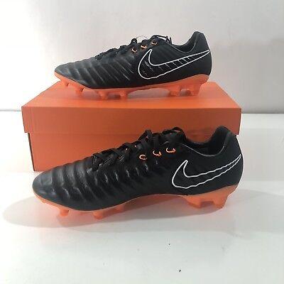 eb7fc9d56a04 Nike Tiempo Legend VII 7 Pro FG Soccer Cleats Black Orange SZ 9 (AH7241-080)