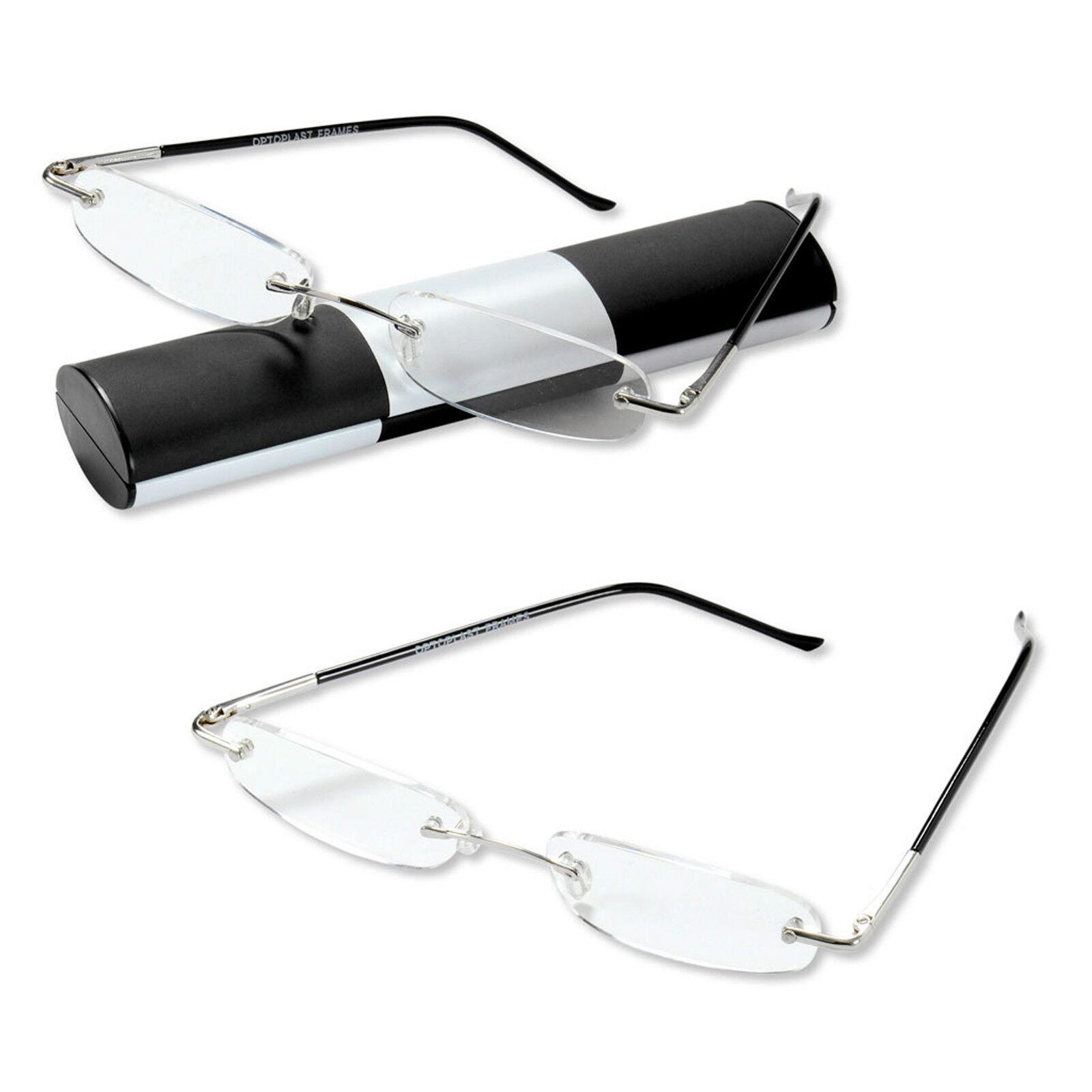 Lesebrille Logic Mini Brille und Etui  1,0 1,5 2,0 2,5 3,0 Neu vom Optiker