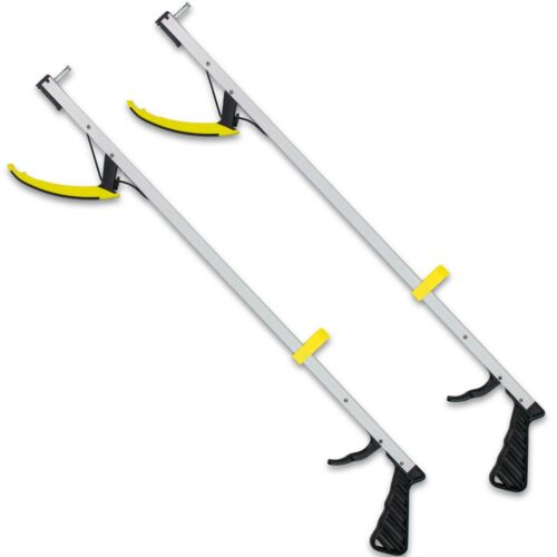 "RMS Featherweight® Grabber Tool Reacher Reaching Aid 2-Pack 32"" or 26"" in Length"