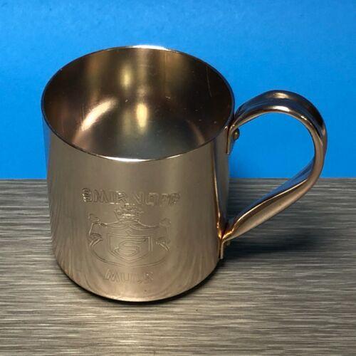 "Smirnoff Mule Mug Collectible Cup 3"" Vintage"