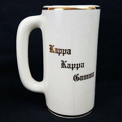 Vintage Kappa Kappa Gamma Mug, Sorority, by W. C. Bunting Co (see description)