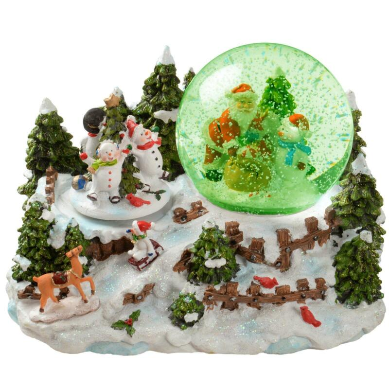 Musical Christmas Snow Globe