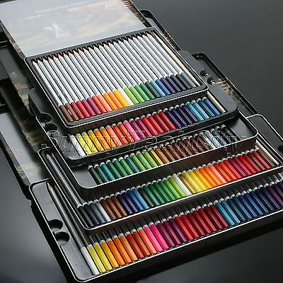 24/36/48/72 Water Soluble Water Color Wooden Pencil Artists