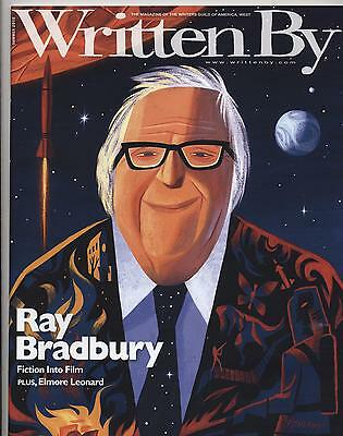 Great Writers - Ray Bradbury WRITTEN BY Writers Magazine New Unread!--FREE SHIPPING Great Cover