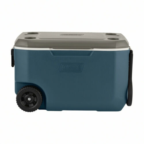 Coleman 62-Quart Xtreme 5-Day Hard Cooler With Heavy-Duty Wheels, Slate