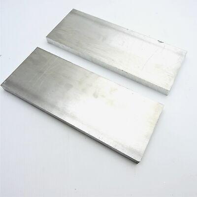 .75 Thick 34 Aluminum 6061 Plate 4.75 X 13.375 Long Qty 2 Sku 208184