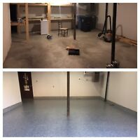 Garage Floor Epoxy Coatings-FALL SPECIAL RATES!
