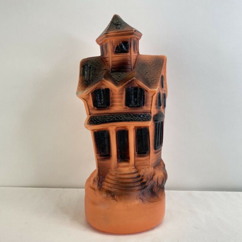Vintage 1969 Empire Blow Mold Halloween Haunted House USA