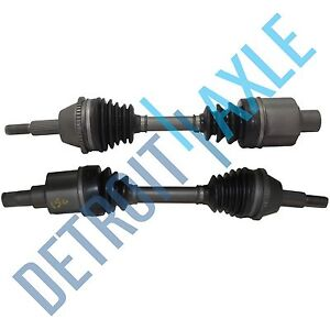 Pair-of-2-Front-Driver-and-Passenger-CV-Joint-Drive-Axle-Shaft-w-ABS-AX4N-Trans