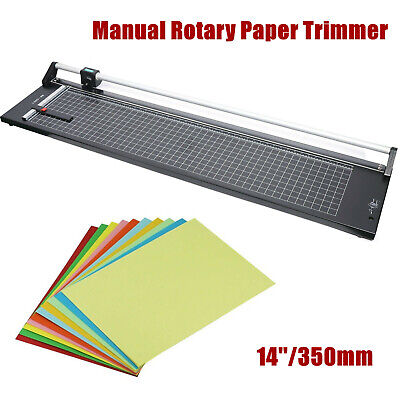 350mm14 Manual Rotary Paper Trimmer Sharp Photo Paper Cutter Trimming Tool