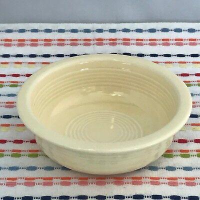 (Vintage Fiestaware Ivory 4 3/4 inch Fruit Bowl Fiesta Small Bowl)