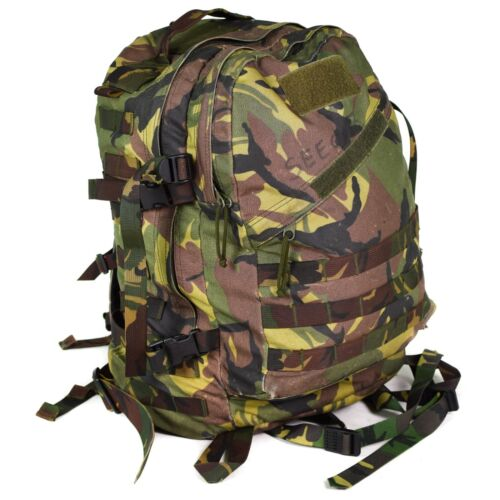 Genuine Dutch army DPM woodland combat rucksack backpack 35L tactical daypack
