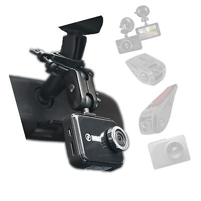 Dash Cam Mirror Mount - Fits Falcon F170HD,Rexing V1, Z-Edge, Old Shark, YI, ...