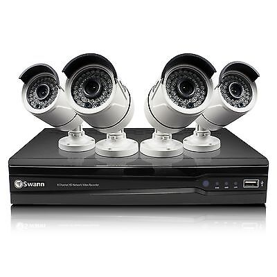 NEW Swann SWNVK-873004-US, 8 Channel 3MP 2TB Security System & 4 x 3MP Cameras